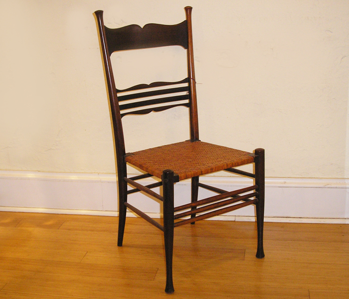 Cane Bottom Chairs Model